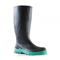 Picture of Gumboot - Black/Green Jobmaster 400mm Non-Safety Toe-APPR489845- (EA)