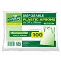 Picture of Apron LDPE Disposable Tear Off -APPR494110- (SLV-100)