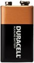 Picture of 9V Duracell Rectangle Battery -BATT347200- (EA)