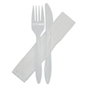 Picture of Cutlery Combo Set Knife/Fork/Napkin-DCUT176150- (SLV-500)