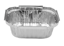 Picture of #325 / #7313 Small Square Deep Foil Sweet Dish - 95mm x 95mm Base Dimensions x 32mm High-FCON135510- (SLV-100)