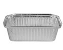 Picture of #446 / #7119 Rectangular Foil Container - 155mm x 76mm Base Dimensions x 57mm High-FCON135650- (CTN-500)