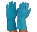 Picture of Gloves Silverlined Rubber Blue-GLOV474745- (PAIR)