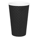 Picture of Black 16oz Dimple Coffee Cups-HCUP108300- (CTN-300)