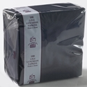 Picture of Napkin 2 Ply Luncheon Black  -NAPK185350- (SLV-100)