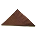 Picture of Napkin 2 Ply Luncheon Chocolate Brown-NAPK185360- (SLV-100)