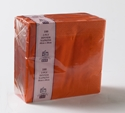 Picture of Napkin 2 Ply Dinner Orange-NAPK187010- (SLV-100)