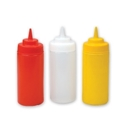 Picture of Sauce Bottle 480ml/16oz Soft Plastic Large Opening -POLY228400- (EA)