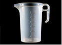 Picture of Measuring Jug Clear Plastic with Markings - 3 Litre-POLY228544- (EA)