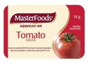 Picture of **Indent Line**Tomato Sauce Squeeze-ons Masterfoods-PORT279500- (CTN-100)