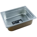 Picture of Stainless Steel Bain Marie Steam Insert Pan 1/2 size 100mm deep - 325mm x 265mm-SSTL225175- (EA)
