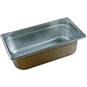 Picture of Stainless Steel Bain Marie Steam Insert Pan 1/3 size 100mm deep - 325mm x 175mm-SSTL225180- (EA)