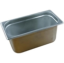 Picture of Stainless Steel Bain Marie Steam Insert Pan 1/3 size 150mm deep - 325mm x 175mm-SSTL225181- (EA)