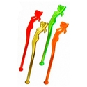 Picture of Swizzle Stick 'Nymph' Neon-STRW178136- (SLV-100)