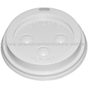 Picture of White Sipper Lid to suit 8oz Single Wall Kraft/Brown Cups-CLID113650- (CTN-1000)