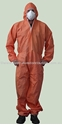 Picture of Coveralls - Disposable Orange Standard-CLTH831970- (CTN-50)