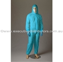 Picture of Coveralls Polypropylene Blue -Standard Non-Rated -CLTH832116- (EA)