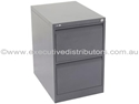 Picture of Steel Filing Cabinet - 2 Drawer Vertical-FURN358385- (EA)
