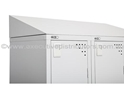 Picture of Sloping Top for Bank of Three Lockers -270H x 915mm Wide-FURN358430- (EA)
