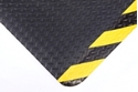 Picture of Chequer Plate Sponge Kote Mat With Yellow/Black Edges - 1200x900mm-MATT360800- (EA)