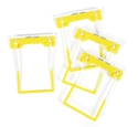 Picture of Fastener Tubeclip Yellow Plastic-STAT349641- (BOX-100)