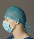 Picture of Hair Nets- Polypropylene Surgeon Cap with ties -Blue-APPR491950- (CTN-1000)