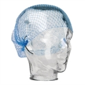 Picture of Hair Nets - Mesh Netting - one size fits Most - Blue-APPR491980- (PACK-50)