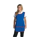 Picture of Apron Cloth - Navy Full Length Popover With Pocket-APPR493905- (EACH)