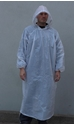 Picture of Poncho Polyethelene Long Sleeve Disposable White -APPR495140- (SLV-10)