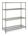 Picture of Shelving - 1500mm L x 1800mm H x 455mm D - Wire epoxy coated c/w 4 adjustable Shelves-FURN358460- (EA)