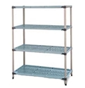 Picture of Shelving- 3 Tier Metromax Q -adjustable polymer mat 1525mm long x 1370 posts-FURN358525- (EA)