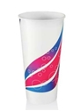 Picture of Cups Paper 22oz / 625ml Swirl Milkshake-CCUP103951- (SLV-50)