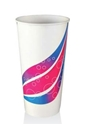 Picture of Cup Paper 24oz 800ml Swirl Milkshake-CCUP104001- (SLV-25)