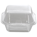 Picture of Clear Plastic Showcase Burger Clam Large KRH1 130x130x70mm-HCON149849- (CTN-400)