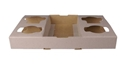Picture of 4 Cup Carry Tray - 4drinksin1hand-TRAY164820- (CTN-360)