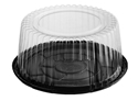 Picture of Cake Dome (Clear) & Black Base 210x100(H)-CAKE147450- (CTN-200)