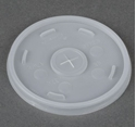 Picture of Flat Lid to suit 14 / 16 / 20 / 24oz Foam Cup-FLID124100- (SLV-100)