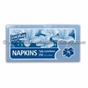 Picture of Napkin 1 Ply Luncheon Light Blue-NAPK179301- (SLV-250)