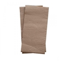 Picture of Napkin - Recycled Kraft Brown Range - Dinner GT Fold-NAPK188615- (SLV-100)