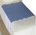 "Picture of Incontinence Aids - ""Kylie"" Buddies Deluxe Bed Pad Blue Tuck in-INCO808000- (EA)"