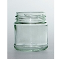 Picture of Glass Jar - 100ml Flint Panelled-GLAS250100- (EA)