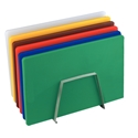 Picture of Plastic Cutting Board 455(W) x 305(L) x 12mm  - Complete Set of 6 Colours - Rack Not Included-POLY228850- (EA)