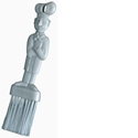 Picture of Pastry Brush Nylon / Silicone Bristle-POLY229450- (EA)