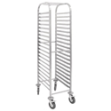 Picture of Stainless Steel Gastronome Racking Trolley with 20 Shelves - 1700H x 380W x 557D-SSTL226150- (EA)