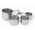 Picture of Stainless Steel Measuring Cups 60ml-250ml-SSTL224710- (SET-4)
