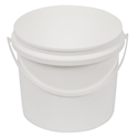 Picture of Plastic Bucket 2.2L White c/w Handle and Lid-BUCK369713- (EA)