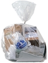 Picture of Wheelie Bin Liner NATURAL 240L Extra Heavy Duty Garbage Bags 1500mm x 1140mm-GARB025805- (SLV-25)