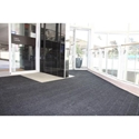Picture of Micah Premier Rollstock Entrance Matting -Smooth Back-Blacksmoke- Fully Edged 1.8m wide Lineal Metre-MATT359200- (EA)