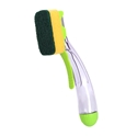 Picture of Dishbrush with Trigger and removable / replaceable Sponge Heads-SCRU375370- (EA)