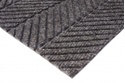 Picture of Micah Premier Rollstock Entrance Matting- Smooth Back in Blacksmoke NON-Edged 1.8m wide Lineal Metre-MATT359250- (EA)